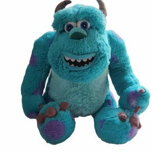 """Disney Monsters Inc Scully Plush 12"""" Hole"""